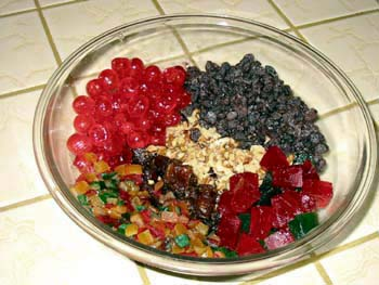 fruit cakes carbs in fruit